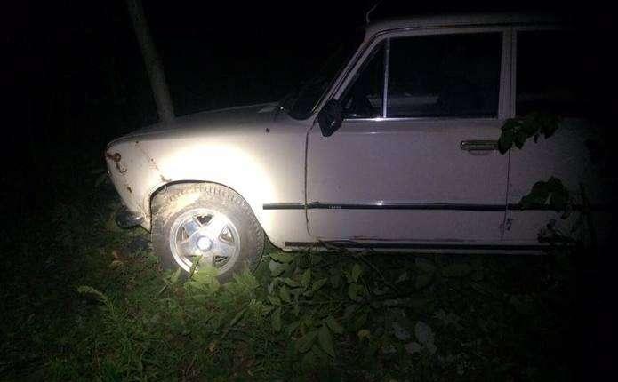 П'яна чернівчанка на ВАЗі втікала від патрульних і врізалася в дерево