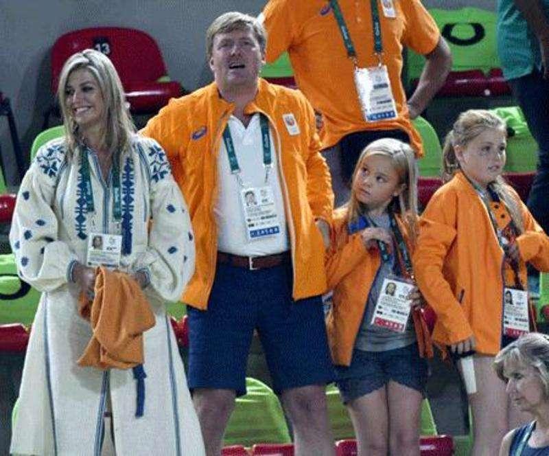 Королева Нідерландів вбралася у вишиванку на Олімпіаді в Ріо