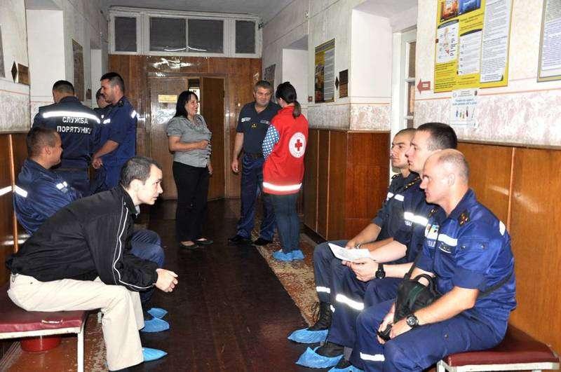 Медики та рятувальники на Буковині першими долучилися до корпоративного донорства