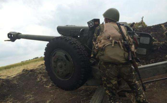 Бойовики застосували проти українських бійців БМП і міномети