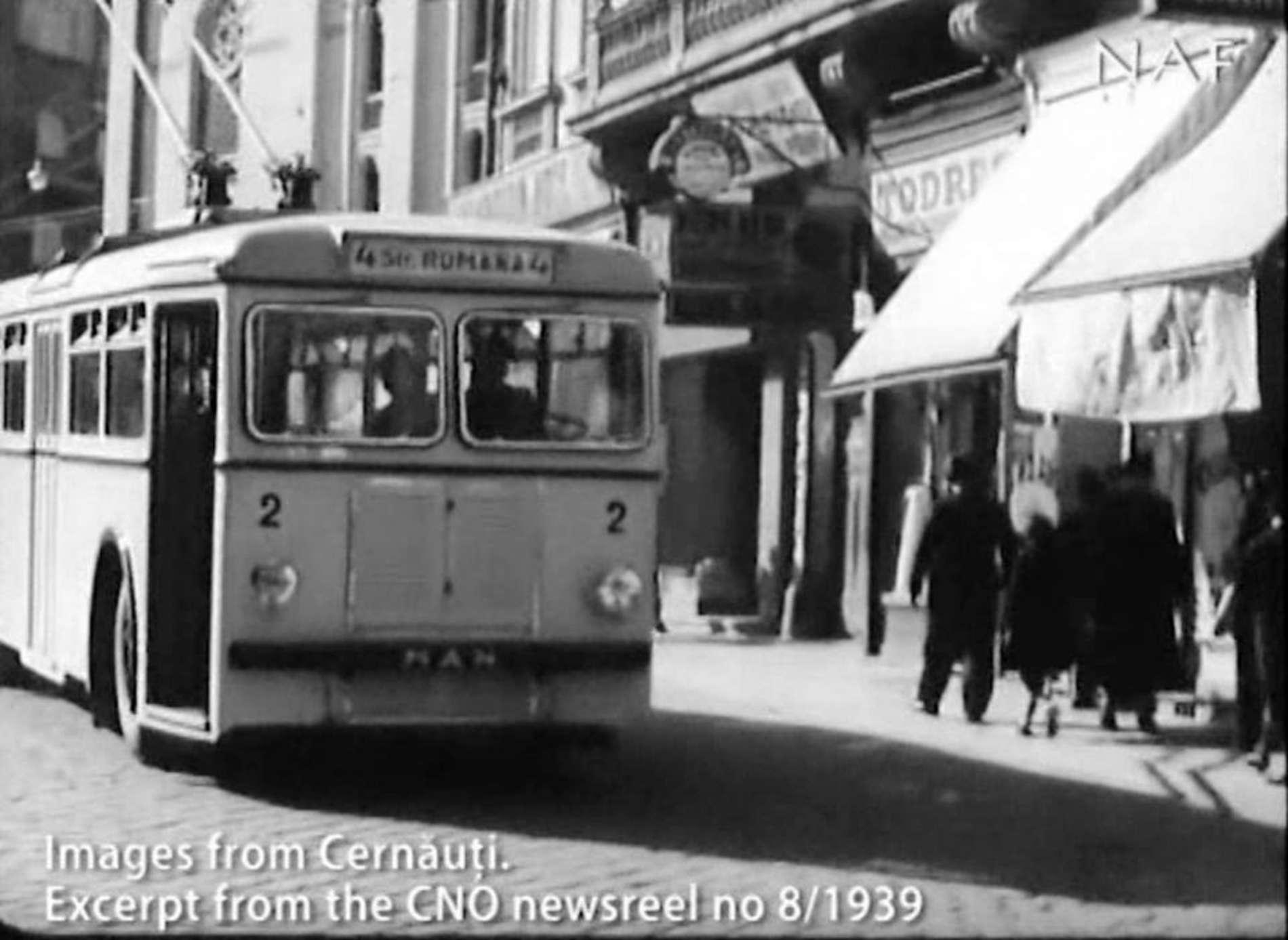 Як виглядали Чернівці у 1939 році