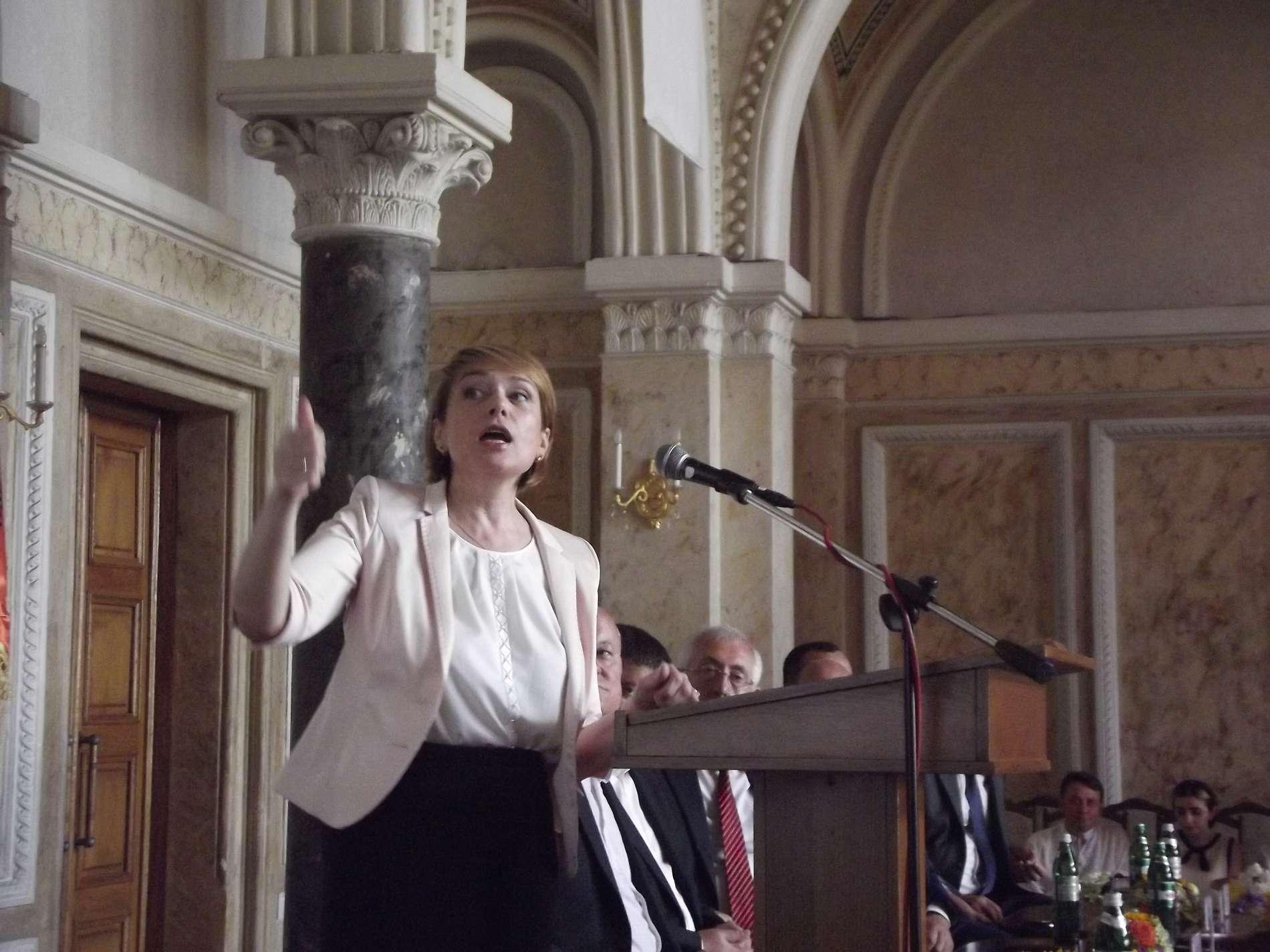 Міністр освіти і науки Лілія Гриневич у Чернівцях поділилась своїм баченням шкільної освіти