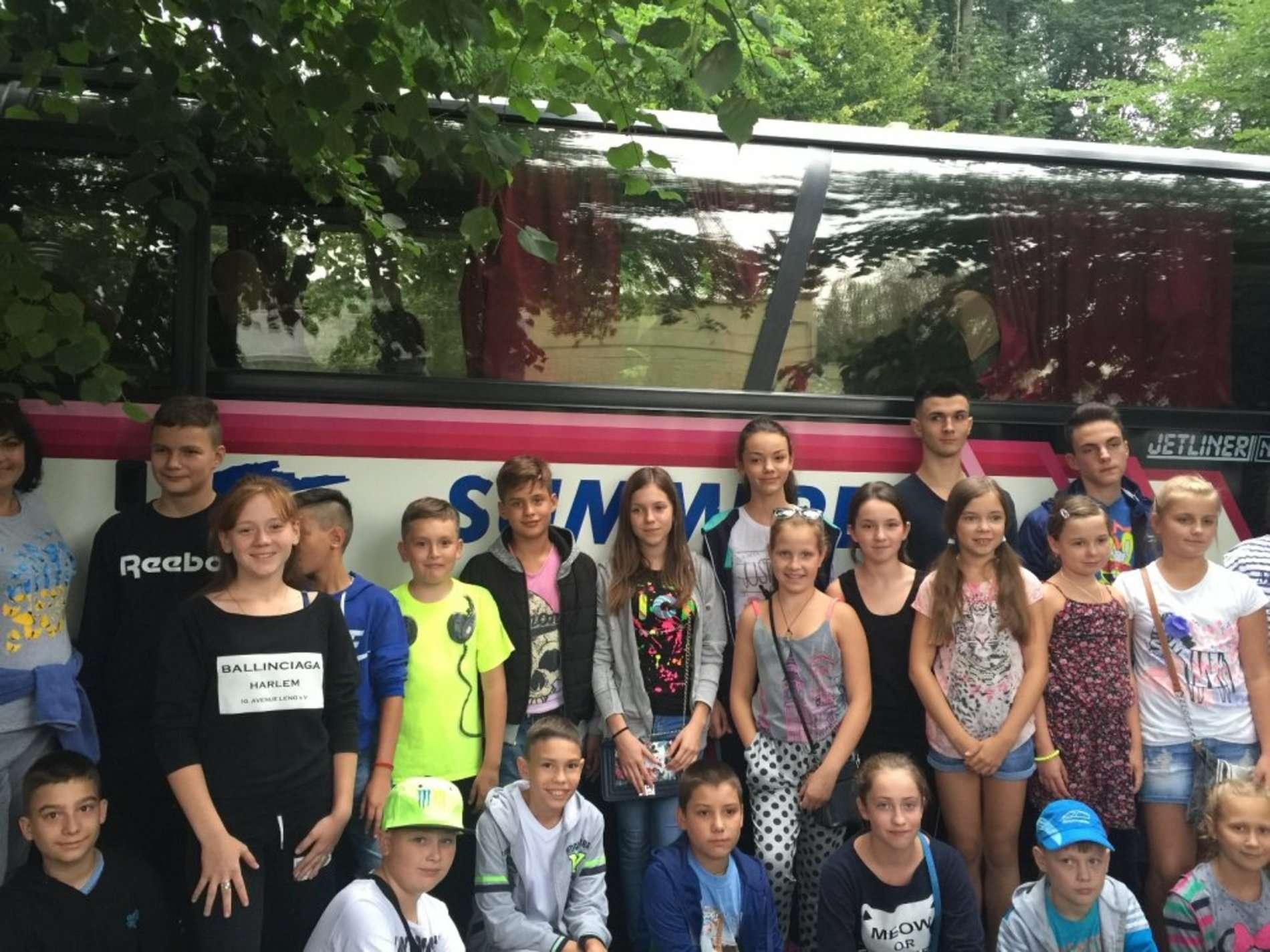 Понад два десятки дітей учасників АТО з Чернівців відпочивали у польському Коніні