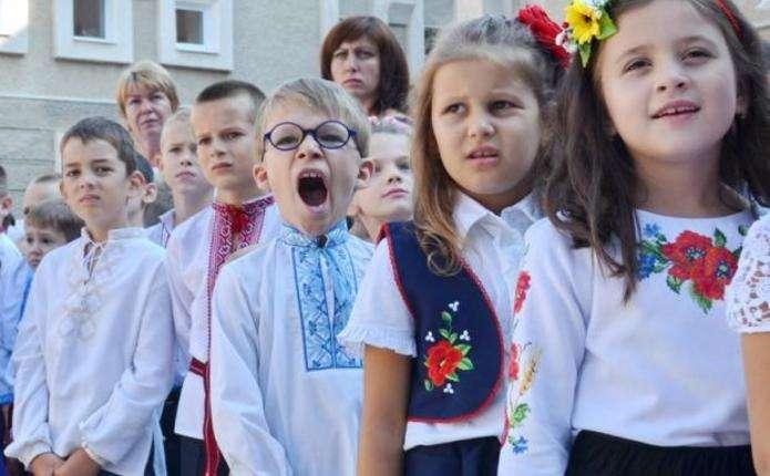 Цьогоріч на Буковині майже 11 тисяч першокласників