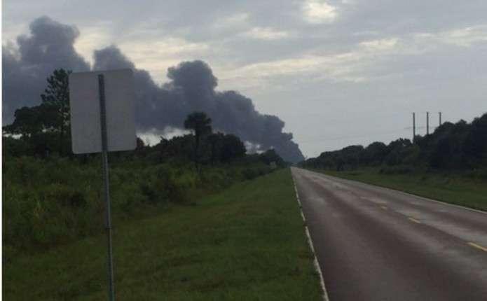 Під час випробування вибухнула новітня ракета SpaceX