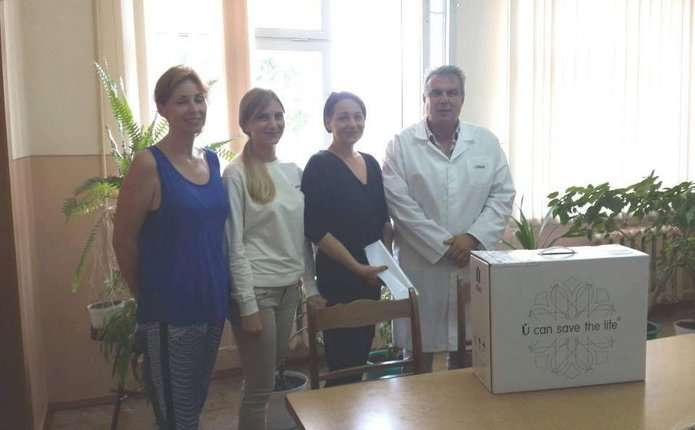 Дитяча поліклініка у Чернівцях отримала сучасний електрокардіограф