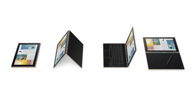 Lenovo представила ноутбук без клавіатури
