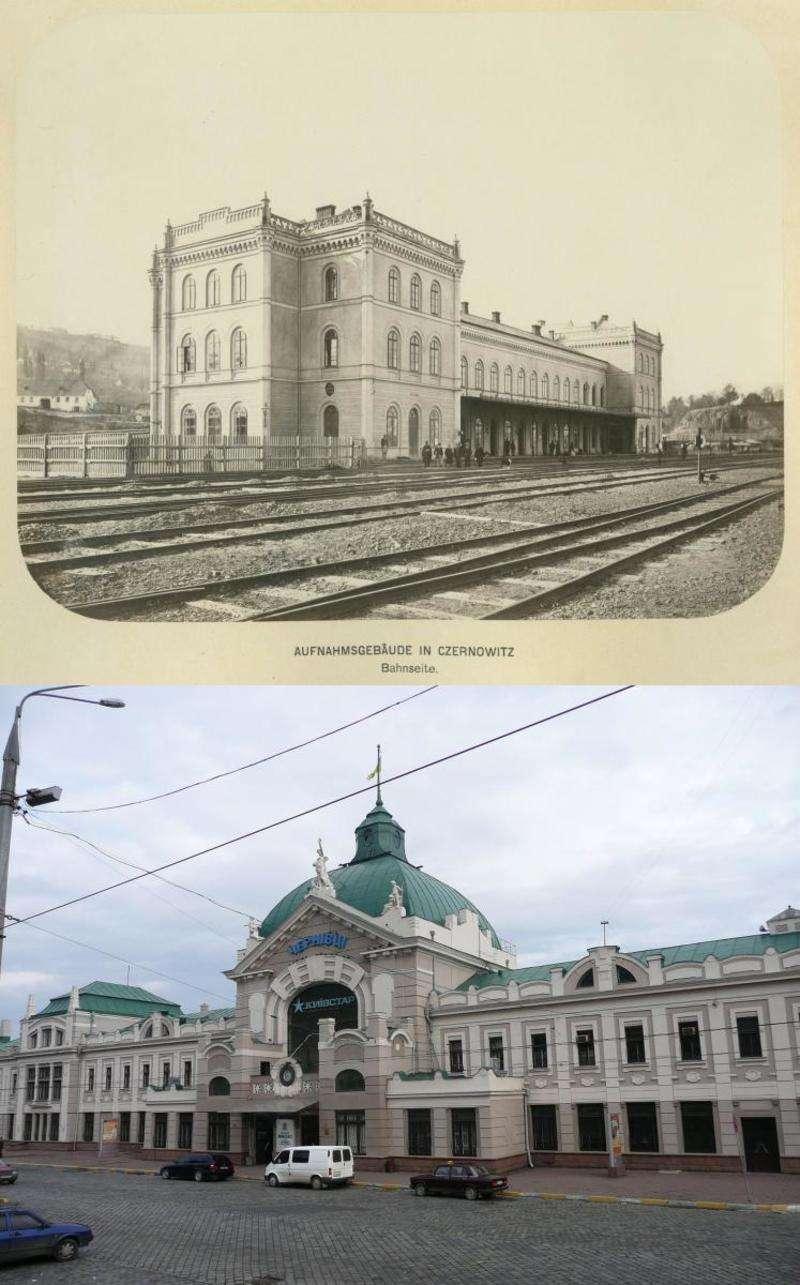 Колись залізницю Львів - Чернівці хотіли продовжити до Індії