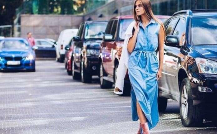 Стильні онука Ротару та донька Брежнєвої похизувалися вбраннями на модному показі