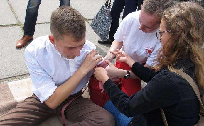 На Соборній площі у Чернівцях проведуть майстер-класи та навчання з надання меддопомоги
