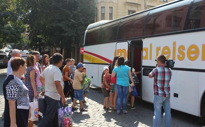 45 дітей з числа родин буковинських АТОвців вирушили на відпочинок до Хорватії