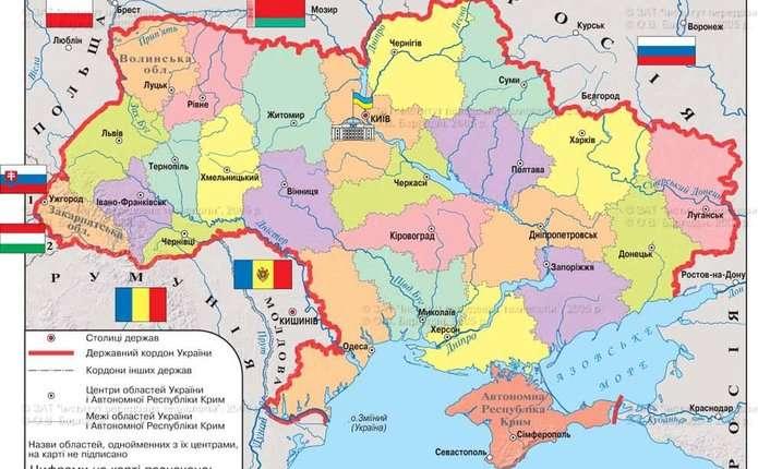 Західні країни-сусіди мають плани на українську територію