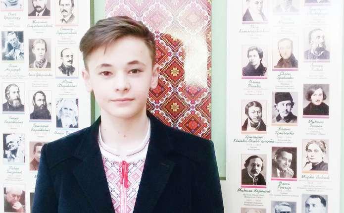 Учень Чернівецької гімназії №5 описав сьогодення в Україні, базуючись на відомому літописному творі