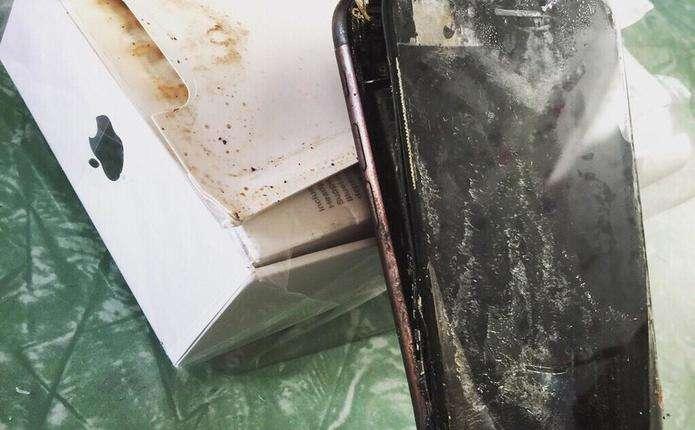 Стало відомо про перший вибух iPhone 7 Plus