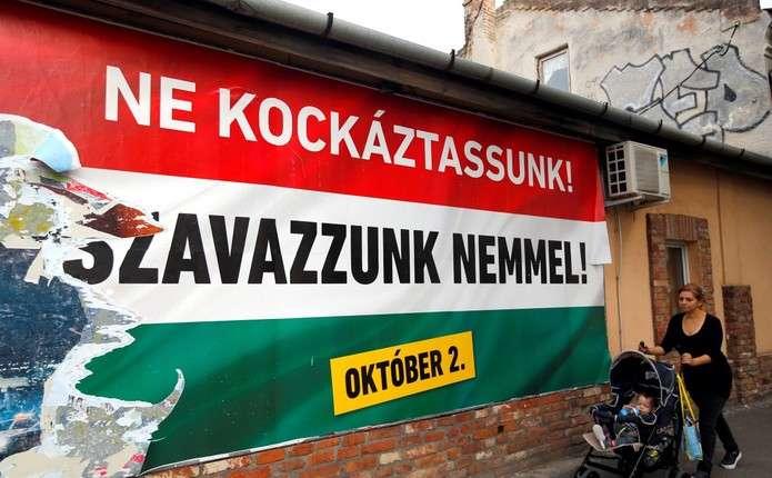 В Угорщині почався референдум стосовно мігрантів