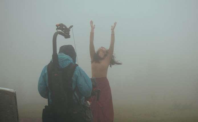 Це була найважча зйомка в моєму житті: Джамала показала, як знімала кліп на Буковині