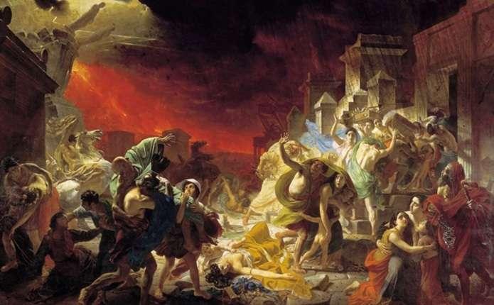 Археологи показали давньоримське місто Помпеї до загибелі