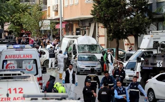 У Стамбулі стався вибух біля поліцейської дільниці, 5 поранених