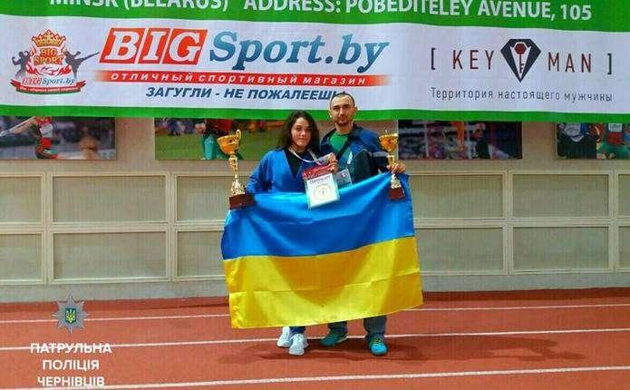 Чернівецька патрульна виборола 2 бронзи на Чемпіонаті світу з панкратіону