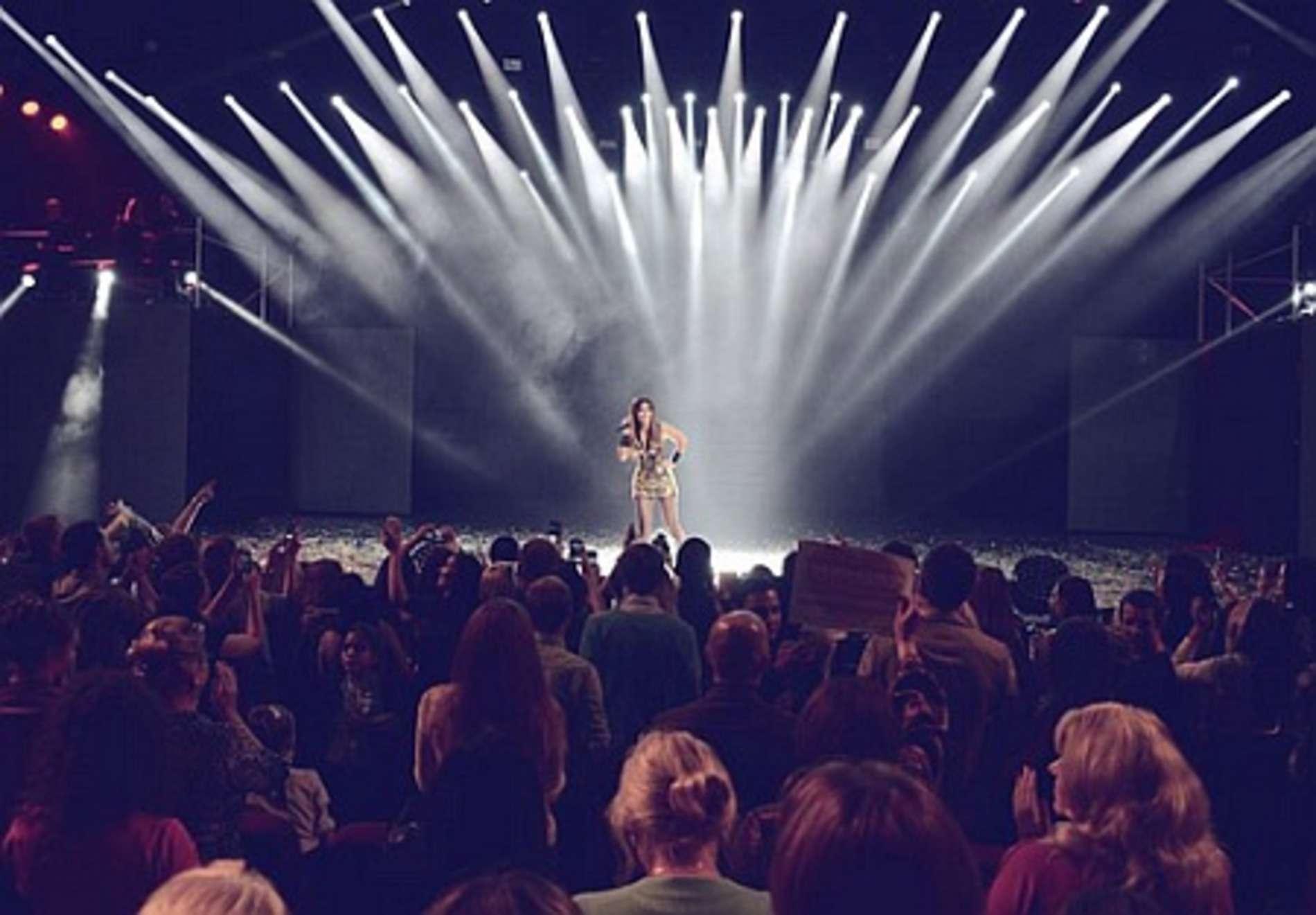 Ані Лорак відіграла сольник у найвідомішому московському концертному клубі
