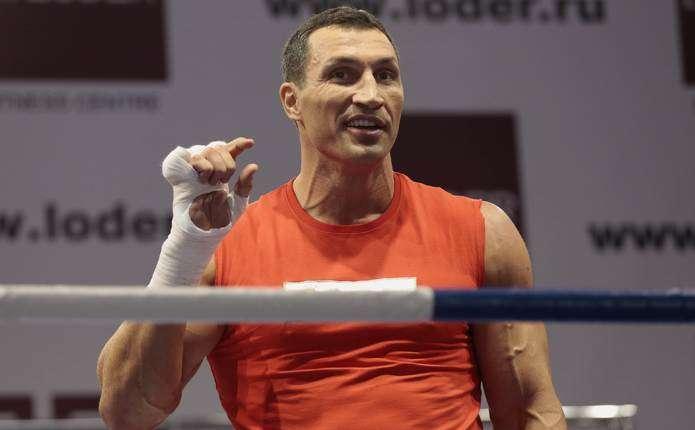 Володимир Кличко повернеться на боксерський ринг 10 грудня