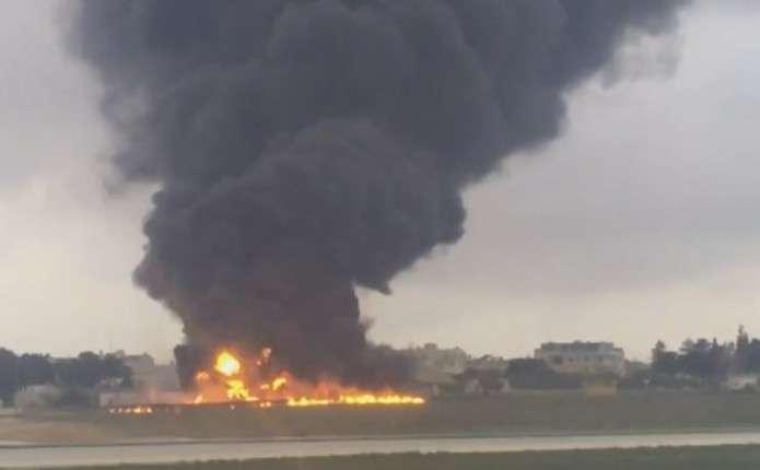 На Мальті розбився літак з прикордонниками ЄС, є жертви