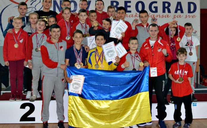 Буковинські каратисти відзначилися на Belgrade Оpen 2016