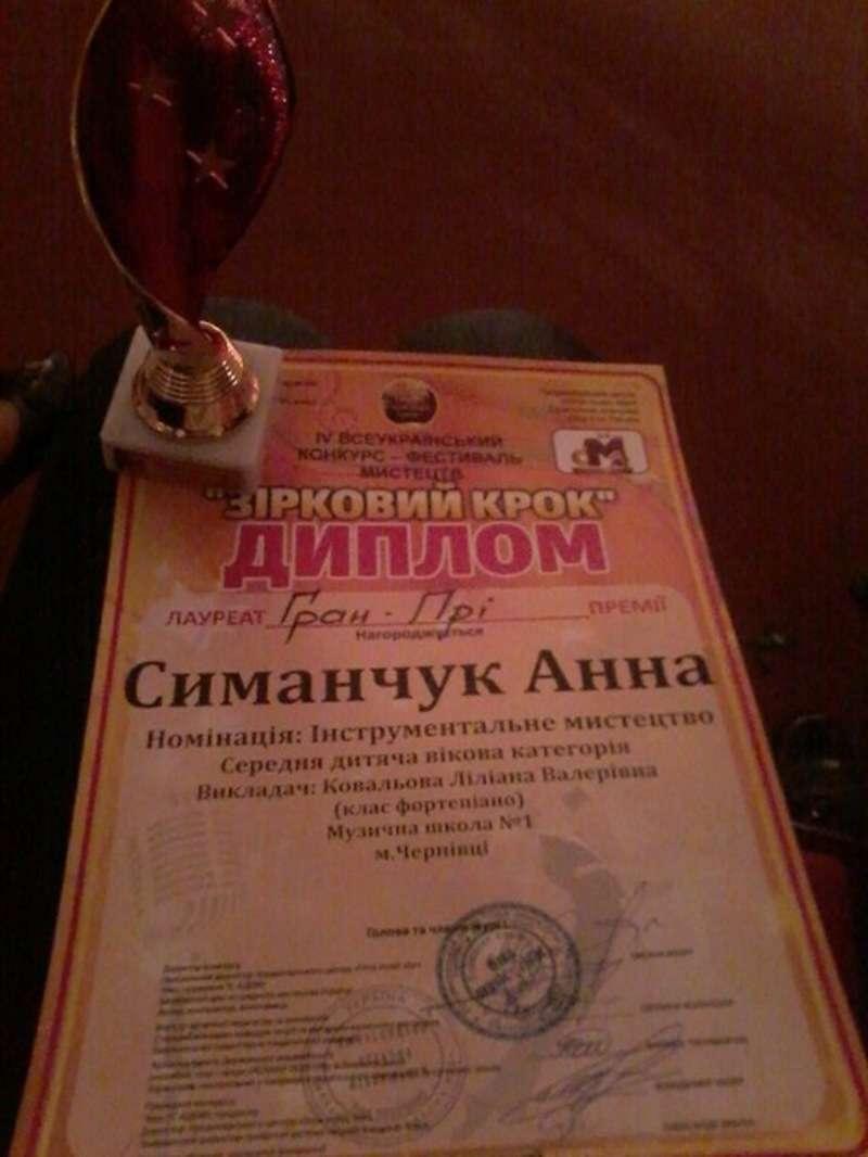 Буковинка здобула гран-пріна престижному конкурсі юних піаністів