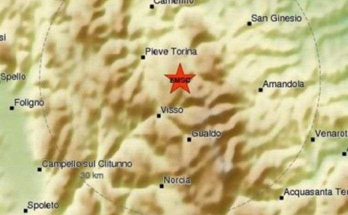 У центральній Італії стався новий землетрус магнітудою 5,4 бали