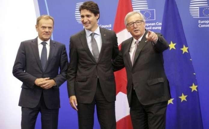 ЄС і Канада підписали угоду про зону вільної торгівлі