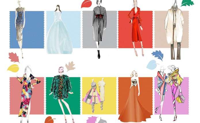 Гардероб: модний спектр осінньо-зимової палітри