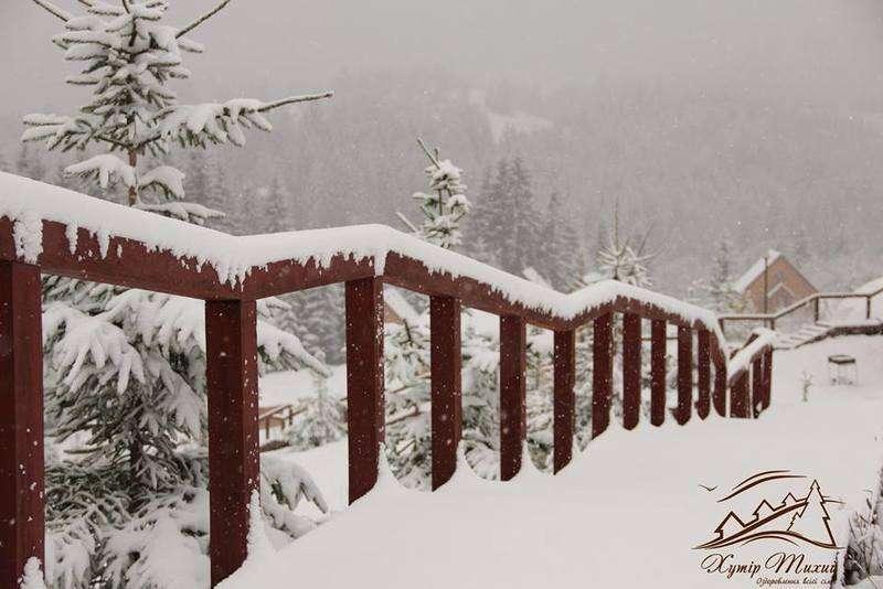 На високогір'ях Буковинських Карпат випав сніг