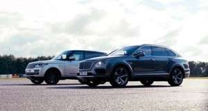 Битва титанів: Range Rover проти Bentley Bentayga
