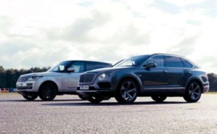 Битва титанов: Range Rover против Bentley Bentayga
