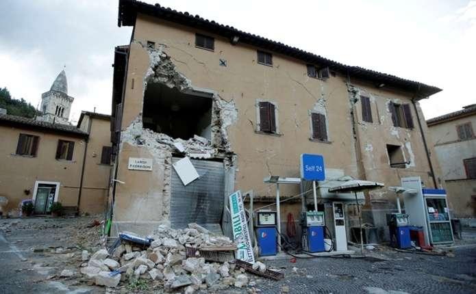 Ще один землетрус струсонув Італію