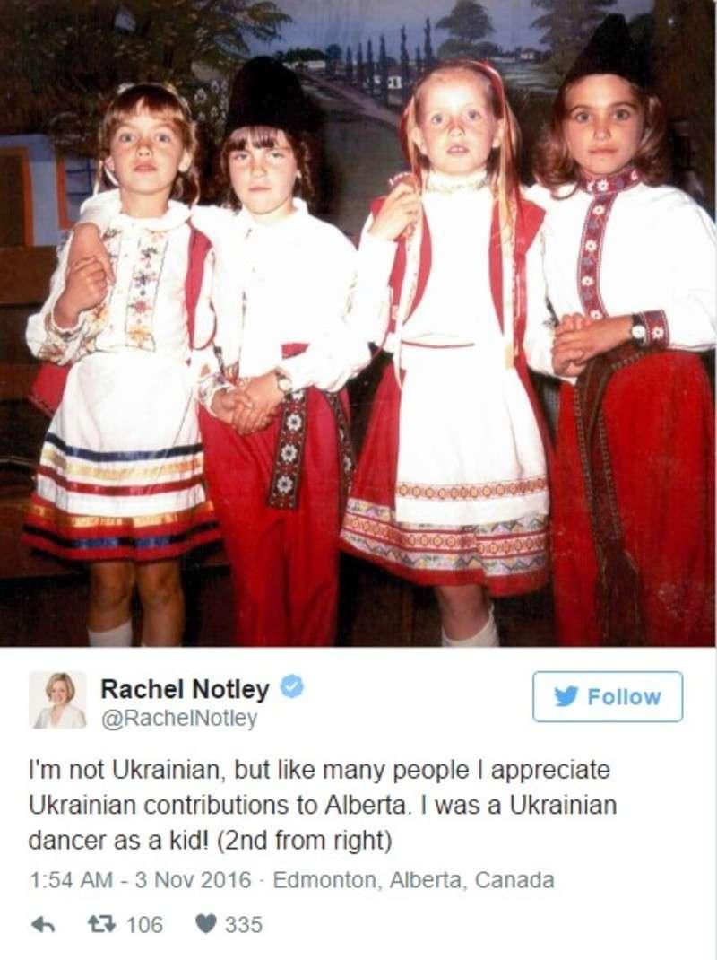 Прем'єр канадської провінції згадала, як танцювала українські танці