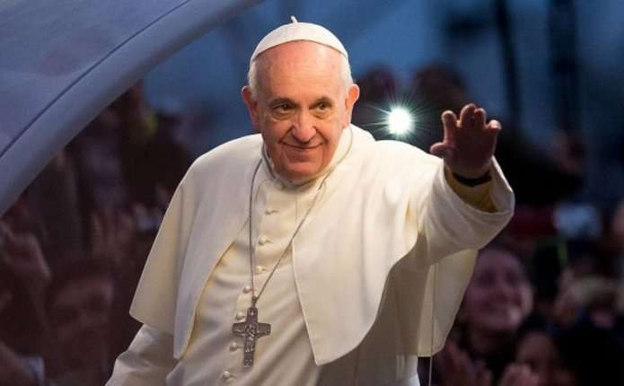 Папа Франциск відправив службу для тисячі в'язнів