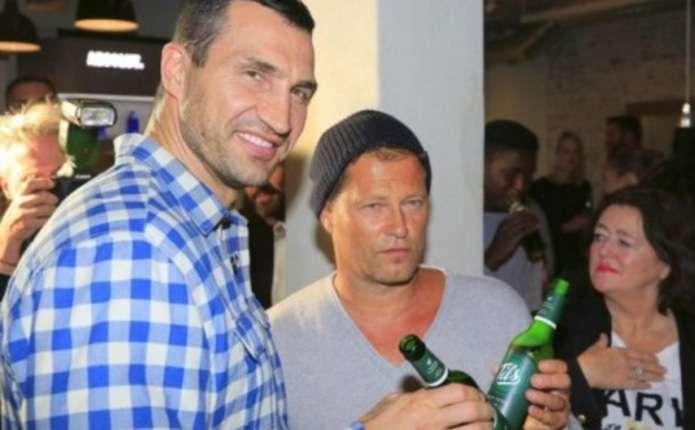 Володимир Кличко побував на відкритті ресторану Тіля Швайгера