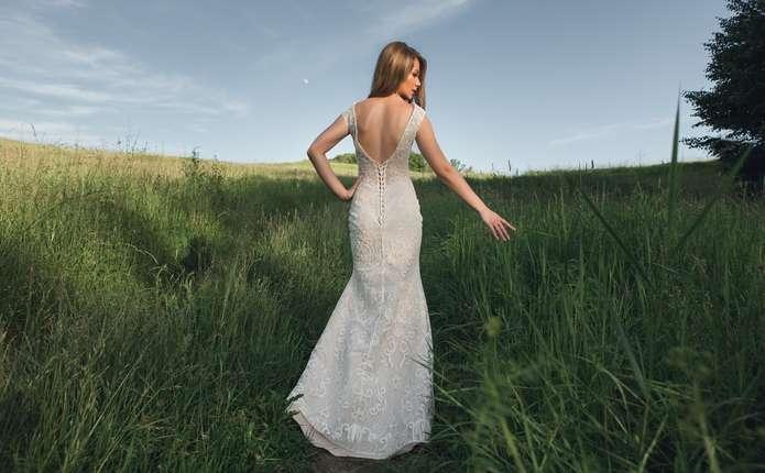 Весільні сукні із закритим верхом: вишукано і благородно