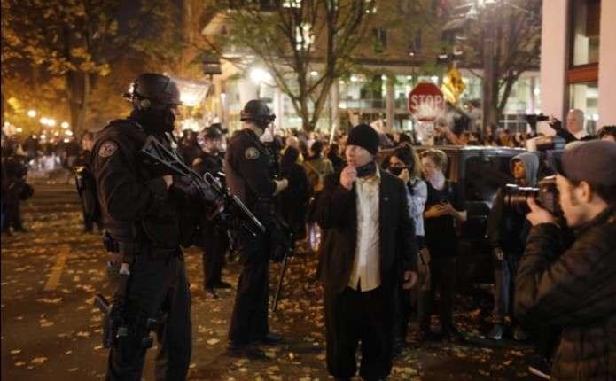 В Орегоні протести проти Трампа переросли у масові заворушення