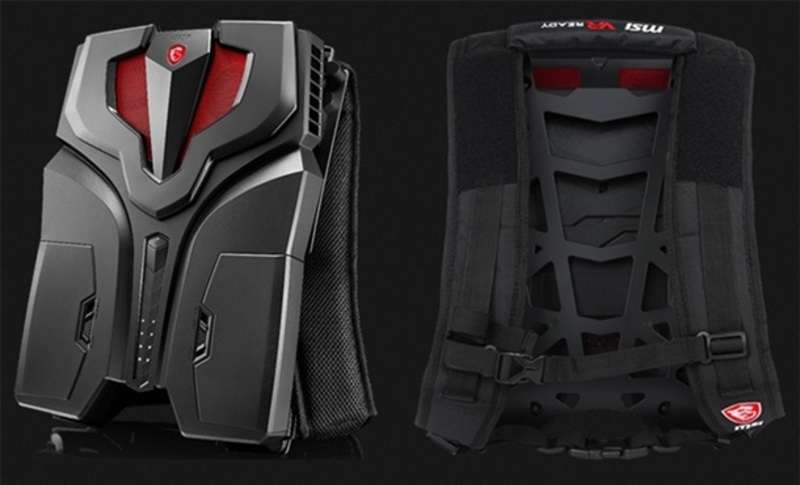 Компанія MSI представила рюкзак віртуальної реальності