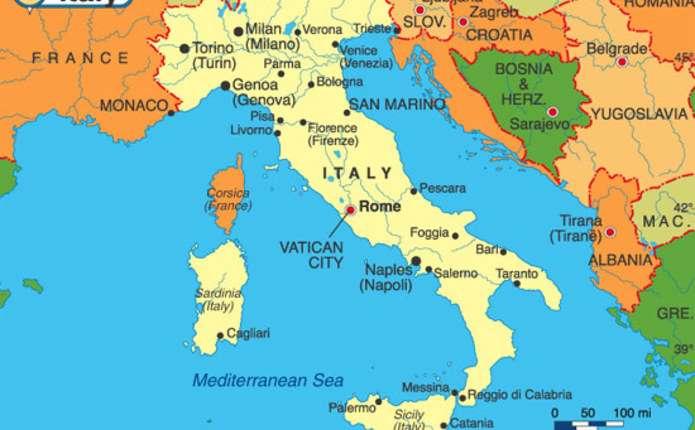 Італію струсонув черговий землетрус