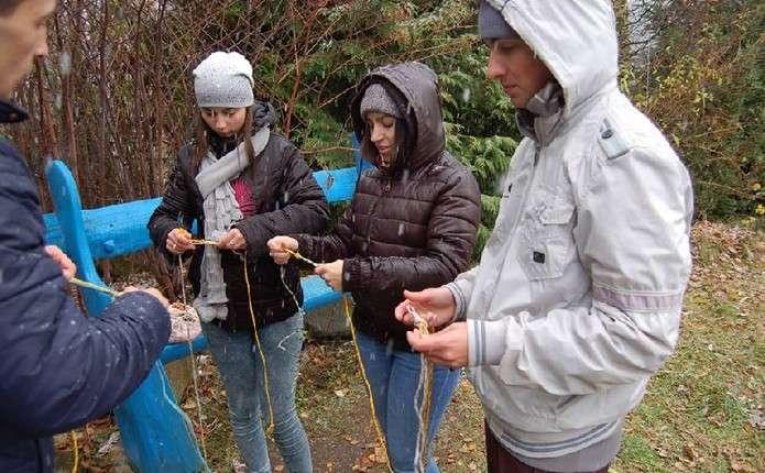 У смт. Мигове влаштували табір для людей з громади Пласт Challenge