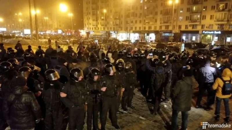 У Києві через концерт Потапа і Насті сталися сутички