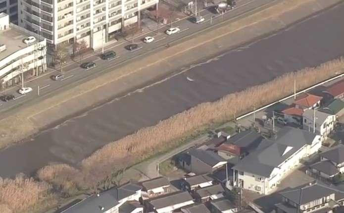 У Японії після землетрусу річка потекла в протилежний бік