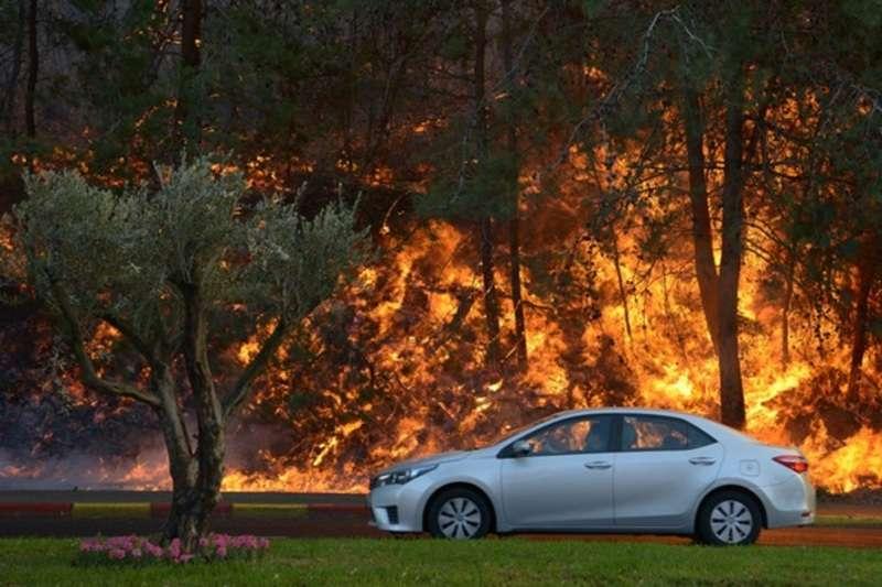 Ізраїль охопили масові пожежі