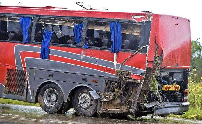 У Росії потрапив у ДТП автобус з 12 українцями, 5 з них – постраждали