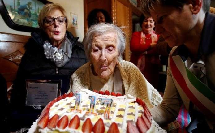 Найстаріша людина світу відзначила 117-ий день народження