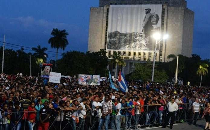На Кубі розпочалася церемонія на честь пам'яті Фіделя Кастро
