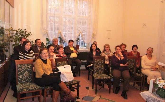 Поетичну книгу Світлани Кирилюк презентували чернівчанам